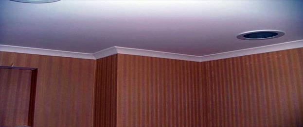 اجرای سقف فلت و گلویی ساده